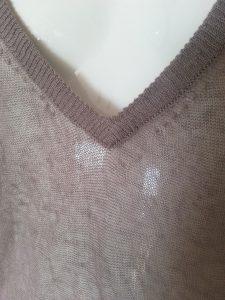 Robe transparente lin American Vintage