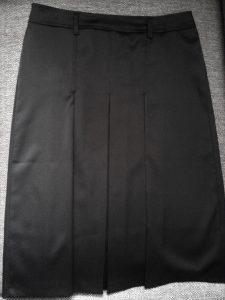 VENDU - Superbe jupe plissée satin