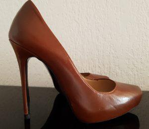 VENDU - Escarpins marrons Zara