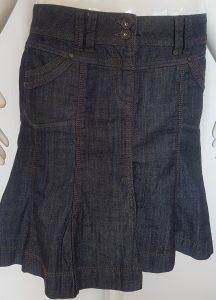 Jupe en jeans Camaieu