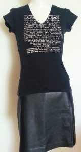 T-shirt 100% coton Calvin Klein J