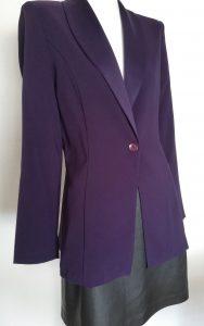 Superbe veste violette