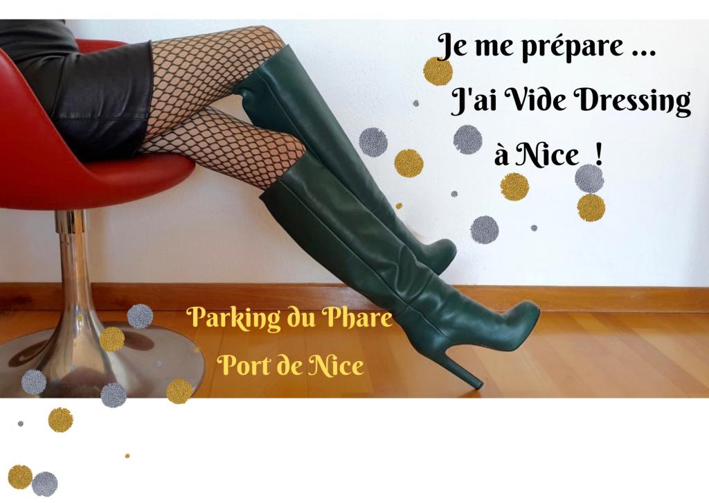 Je me prépare... J'ai Vide Dressing à Nice